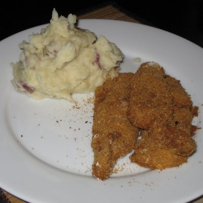 Food, weight, and your take…and faux fried chicken