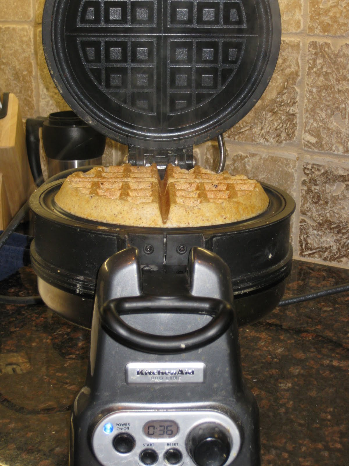 and showing off the best kitchen aid waffle maker ever if youre drawing a blank on what you want from santawaffle maker just sayin you wont regret it - Kitchen Aid Waffle Makers