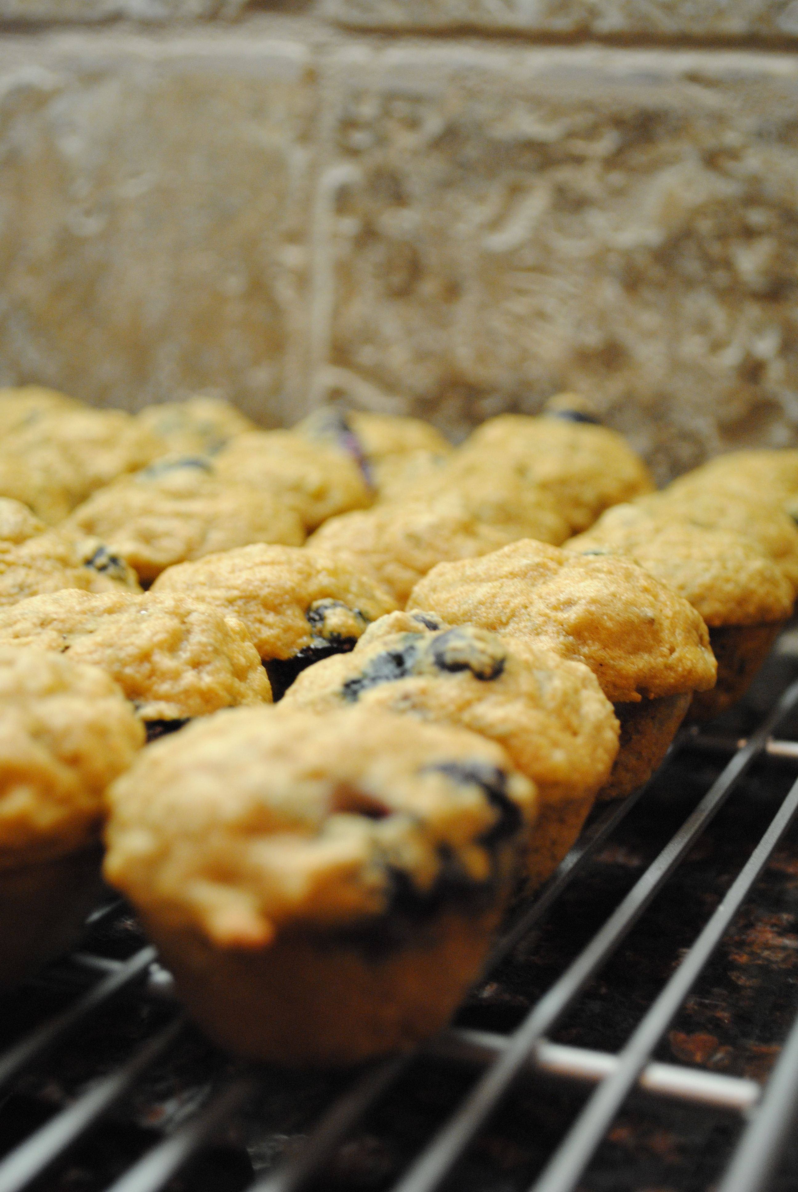Whole Wheat Blueberry Banana Bread Muffins slightly adapted from How ...