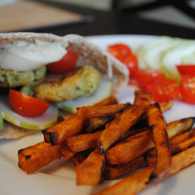 """baked falafel & 10 not-so-healthy """"healthy"""" foods"""