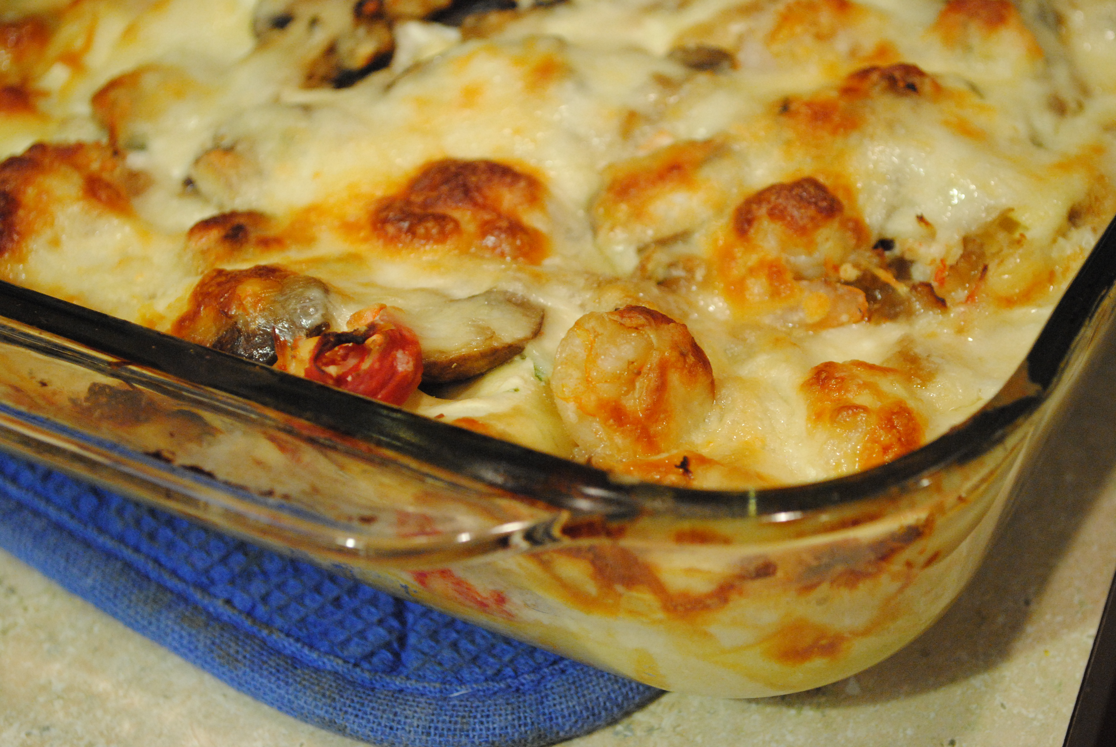 Seafood Lasagna from Cooking Light's Italian Cookbook