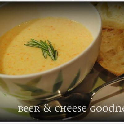 Beer Cheese Soup (Lightened Up)
