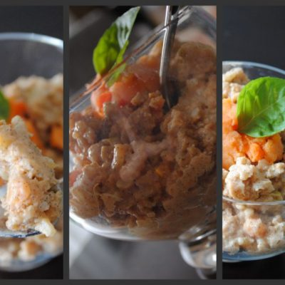 Sweet Potato Rice Pudding