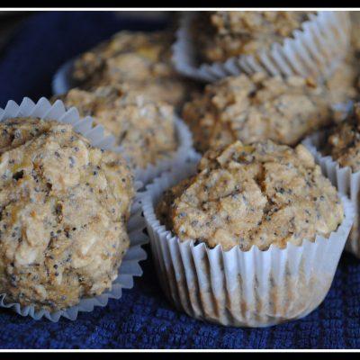 Vegan Banana Poppy Seed Muffins