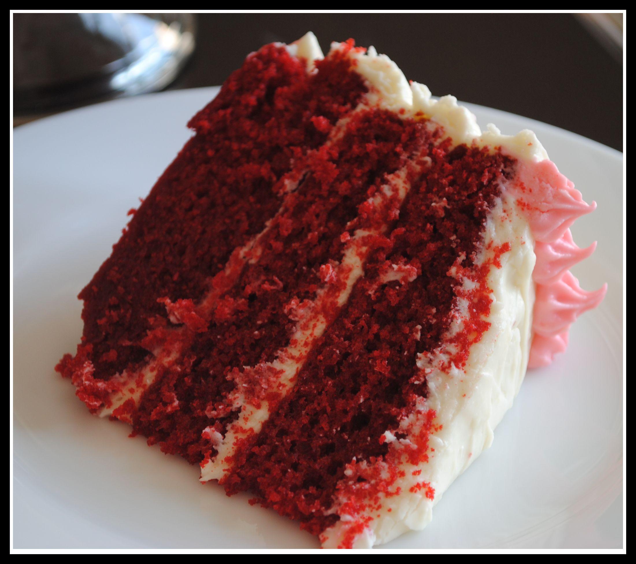 Red Velvet Punch Bowl Cake