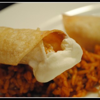 Creamy Baked Chicken Taquitos & Happy National Nutrition Month!