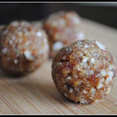 Almond, Date, and Coconut Energy Balls