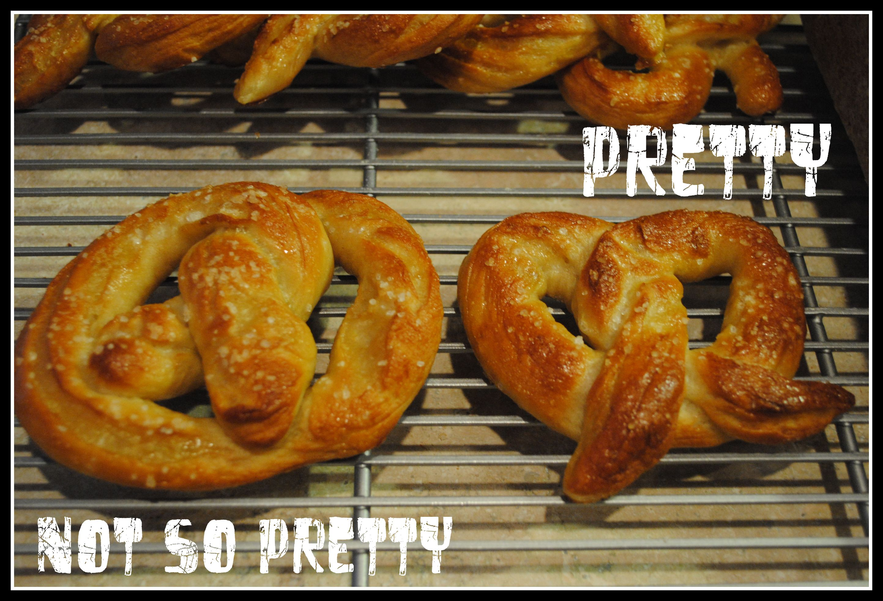 Soft Seasoned Pretzels