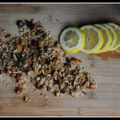 Sweet & Salty Olive Oil Granola Clusters