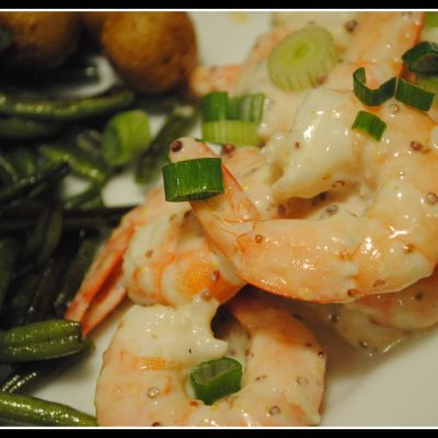 Shrimp in Creamy Horseradish Sauce & Happy RD Day!