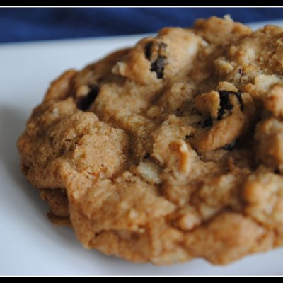 Whole Wheat Oatmeal Raisin Cookies + Weekly Menu
