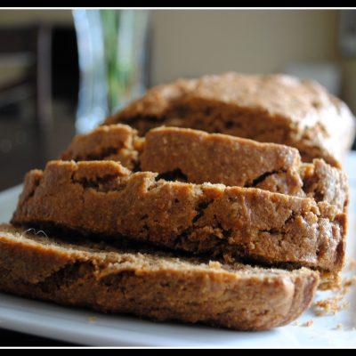 Lower-Fat (Vegan) Banana Bread & asking for support