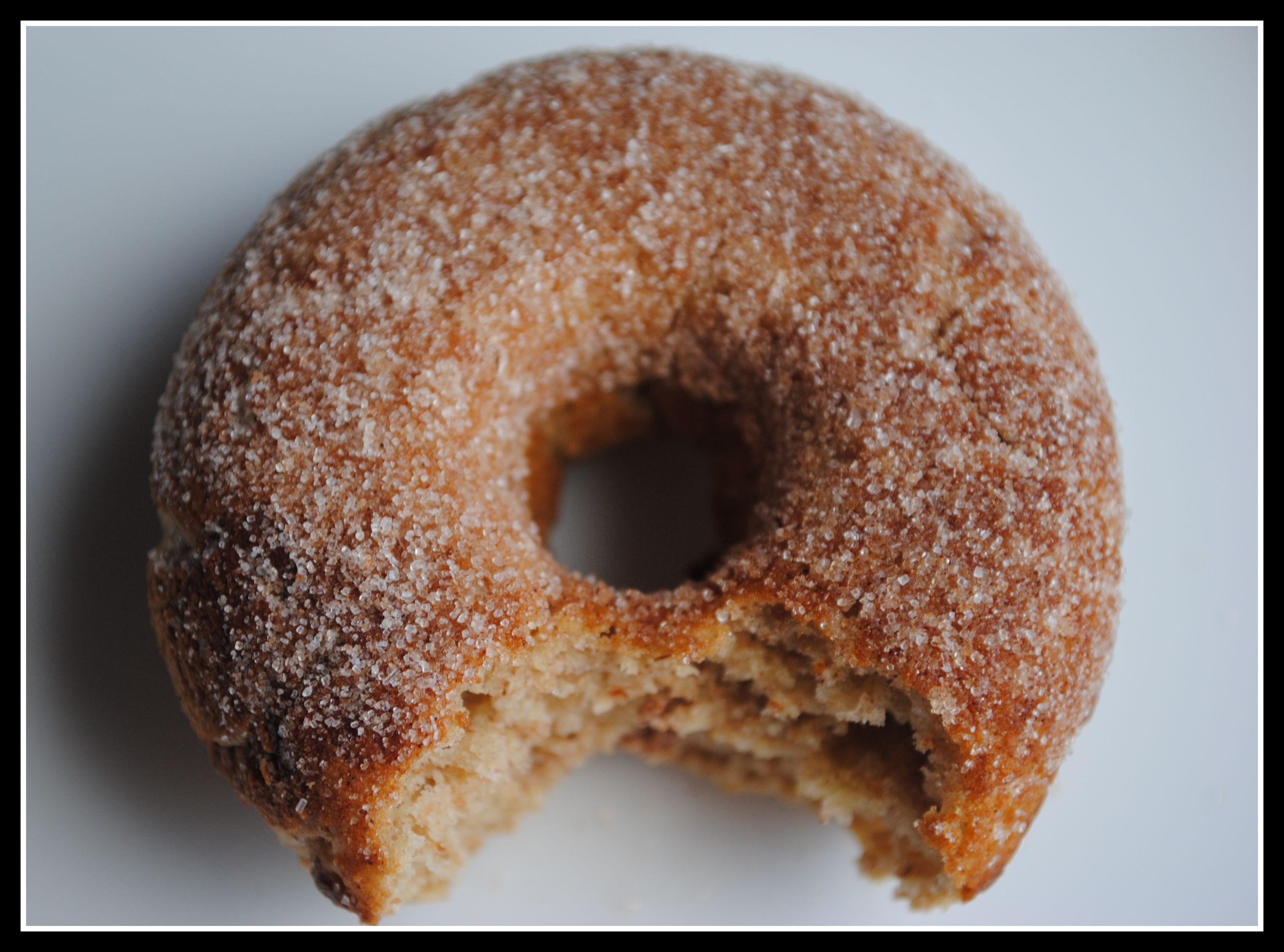 Baked Apple Cinnamon Doughnuts + Weekly Menu