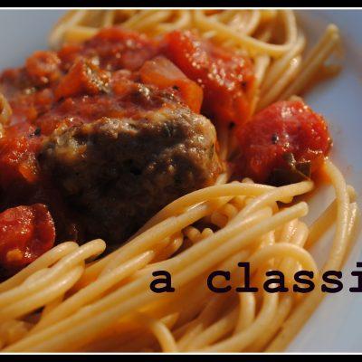 Basic Marinara Sauce & Basic Meatball {Money Matters}