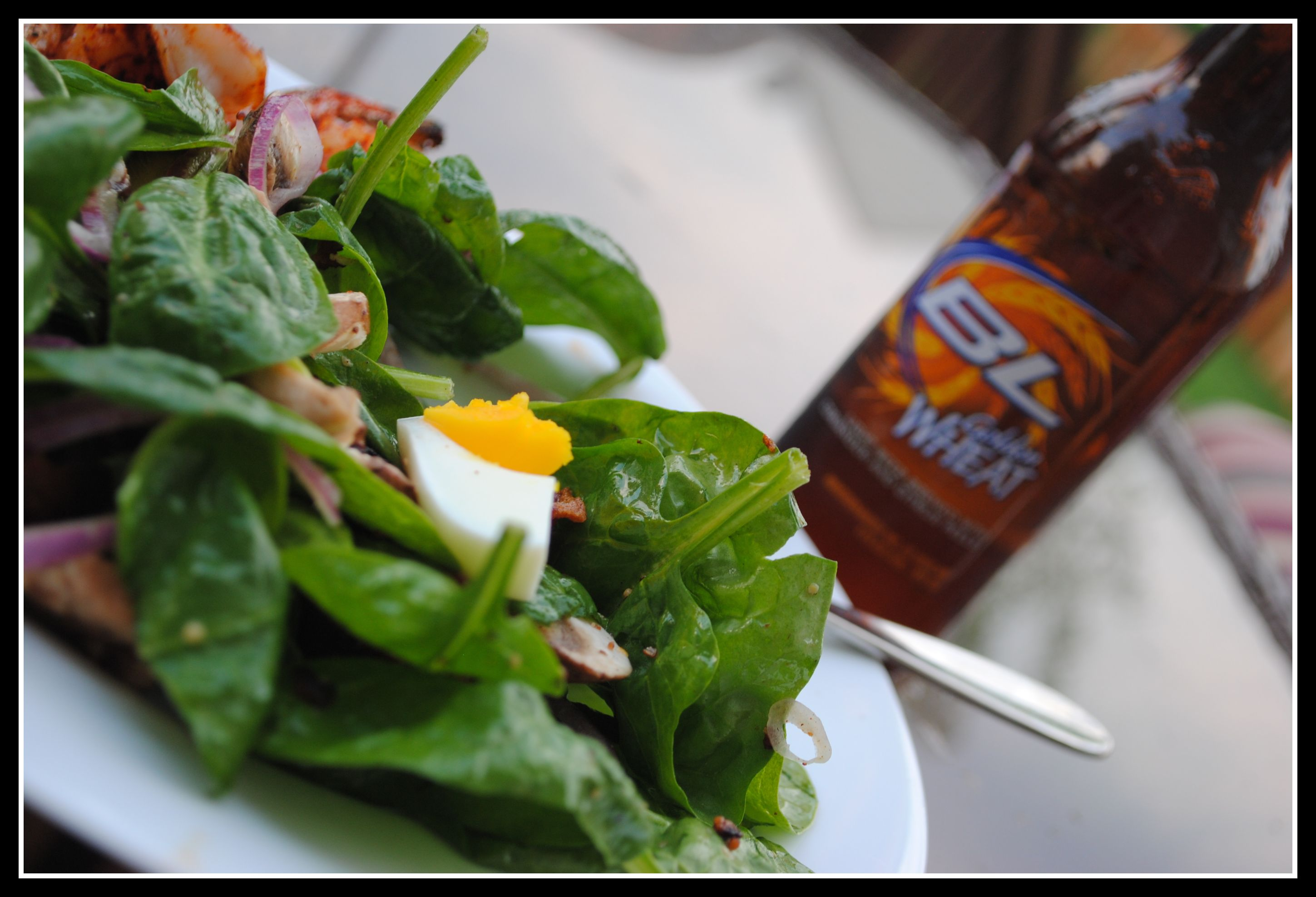 Spinach Salad With Warm Bacon Dressing Prevention Rd