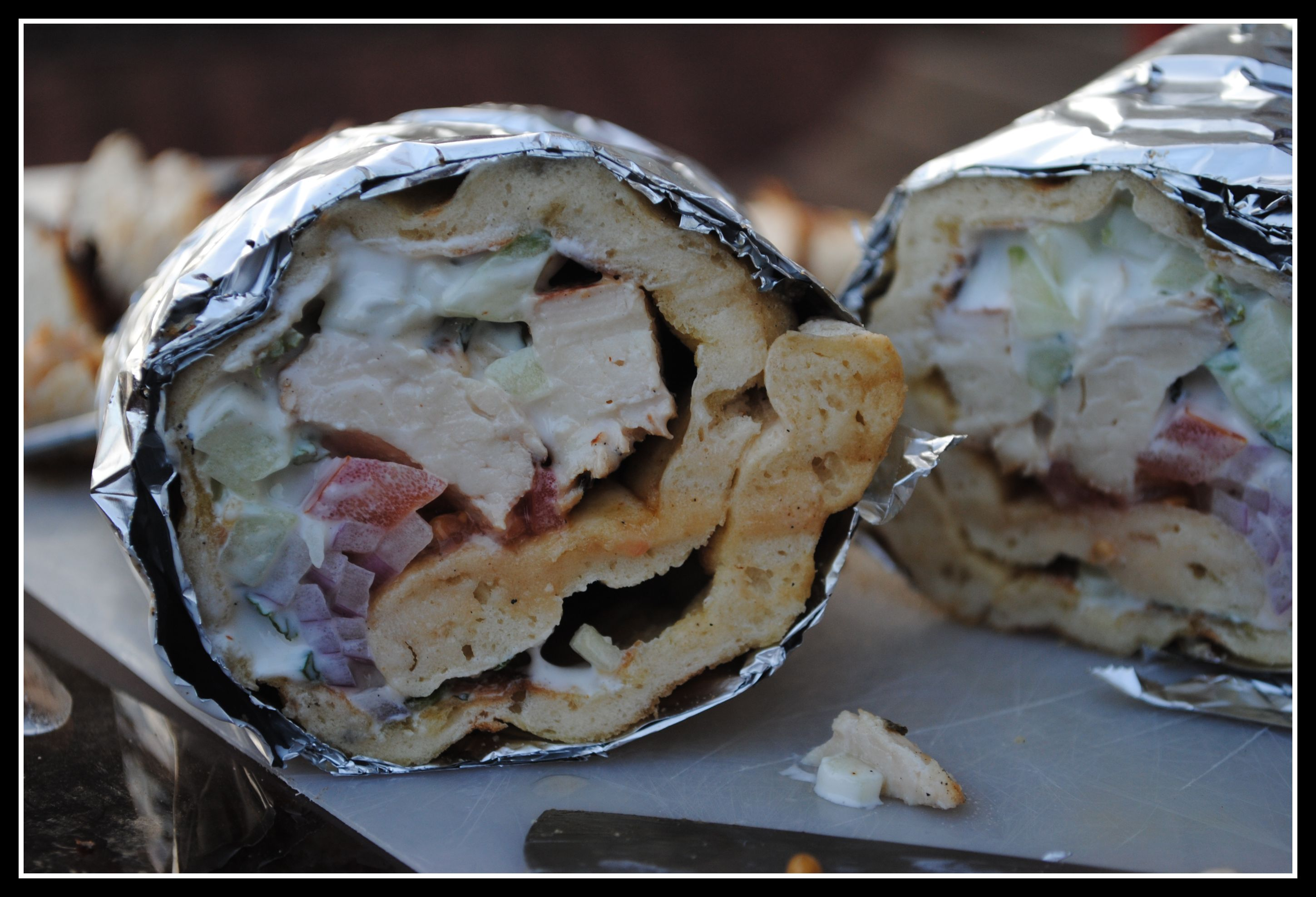 elly says opa tzatziki However you say it yum i grew up in a family of gyro-eating fools originally from elly says opa, as seen on sweet pea's kitchen 1 1/4 pounds boneless chicken gyros with tzatziki sauce from preventionrd.