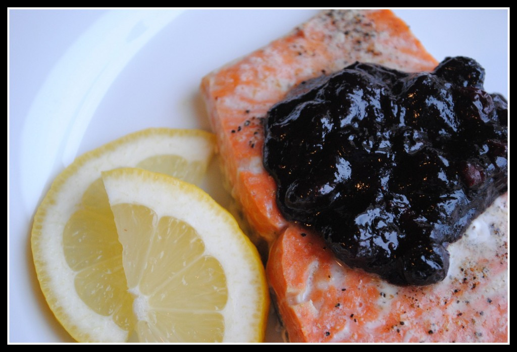 Blueberry Bbq Salmon Endometriosis Diet