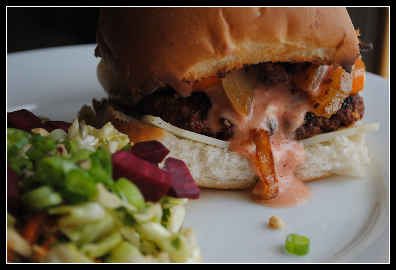 Ultimate Sriracha Burger