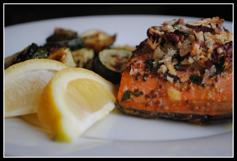 Baked Dijon Salmon Recipe — Dishmaps