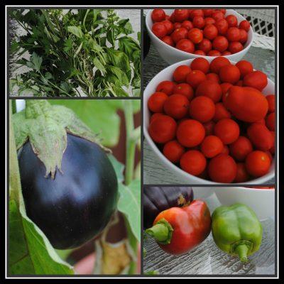 Peaches and Cream Breakfast Quinoa + Garden Update