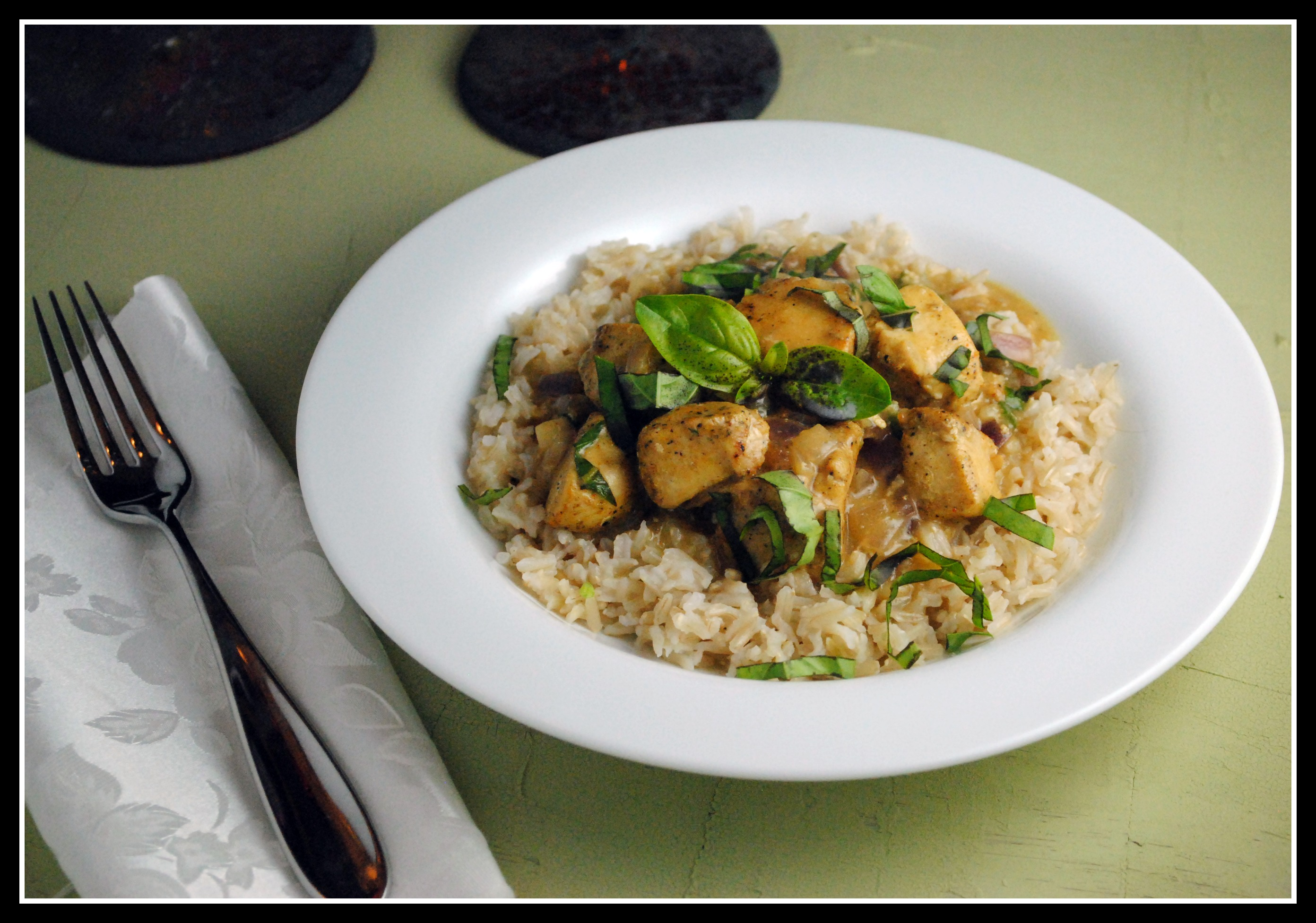 Basil Chicken in a Coconut-Curry Sauce from Better Homes and Gardens ...