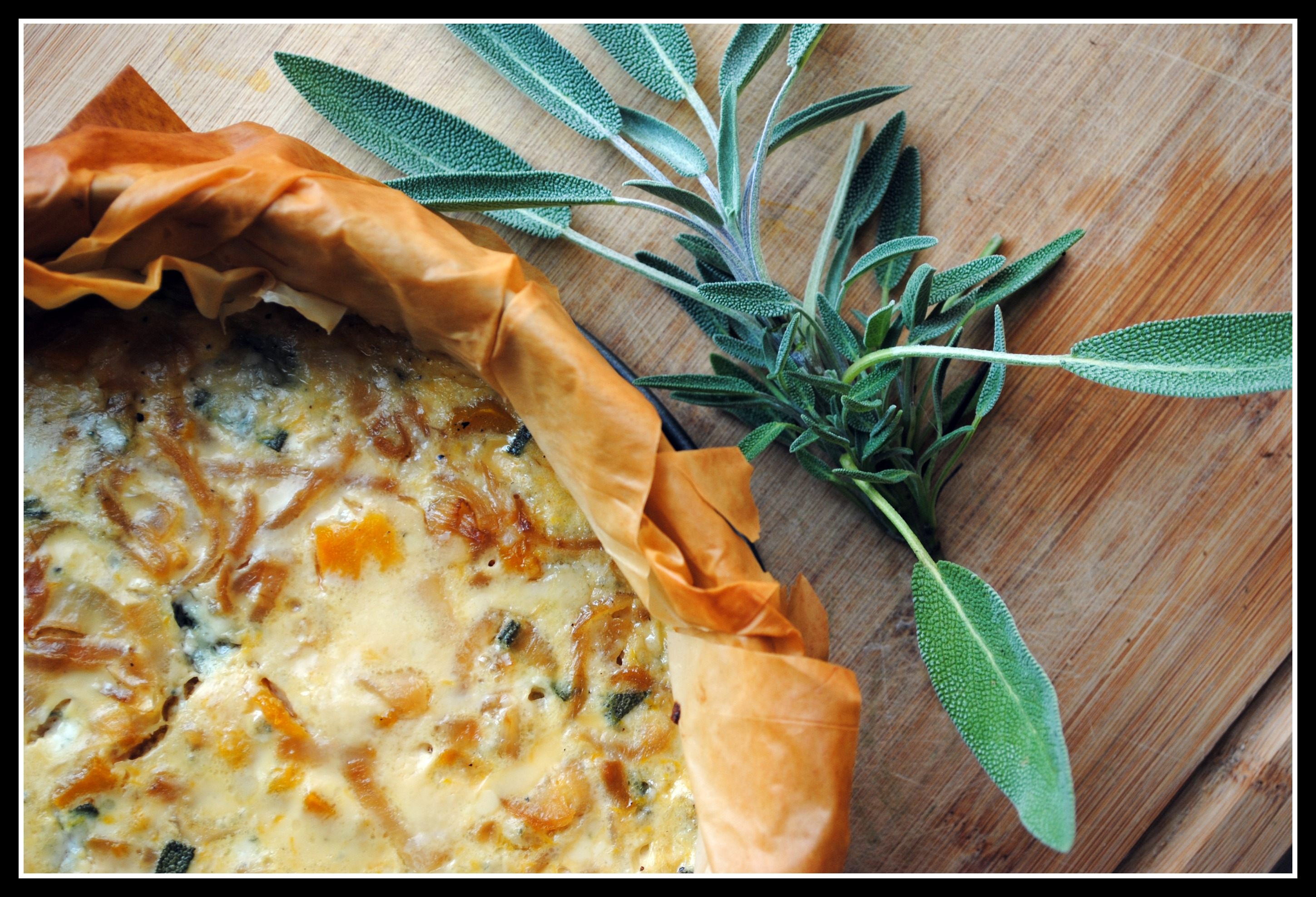 Roasted Winter Squash Quiche with Caramelized Onions ...