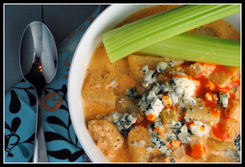 Money Matters: Slow Cooker Buffalo Chicken Chowder