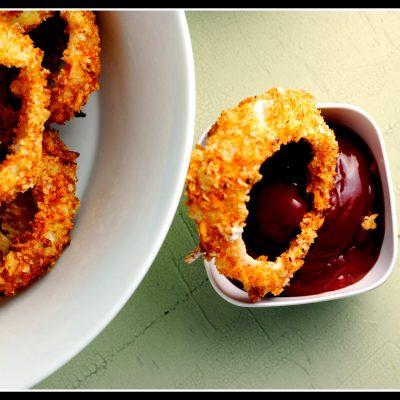 Healthy Crunchy Onion Rings