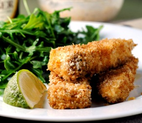 Fancy Fish Sticks + Weekly Menu