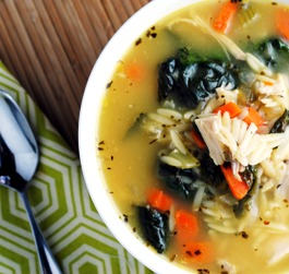 Money Matters: Lemon Chicken Orzo Soup