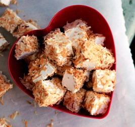Toasted Coconut Marshmallows + Weekly Menu