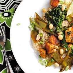 Meatless Monday: Tempeh and Broccolini Stir-Fry