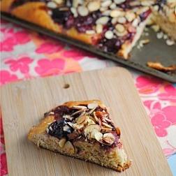 Cherry-Almond Focaccia