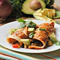 SRC: Veggie Enchiladas