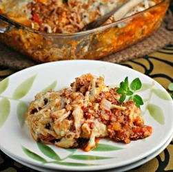 Money Matters: Baked Quinoa and Chicken Parmesan