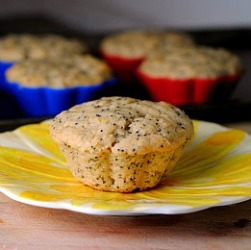 Vegan Lemon Poppy Seed Muffins & Happy Mother's Day
