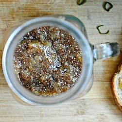 Rhubarb Chia Seed Jam