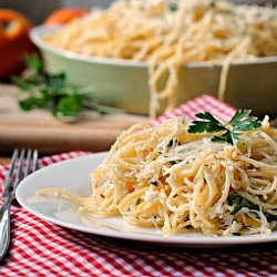 Meatless Monday & Money Matters: Baked Lemon Pasta
