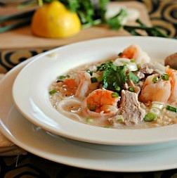 Thai Shrimp Soup with Lemon and Jalapenos