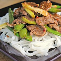 Mongolian Beef + Weekly Menu