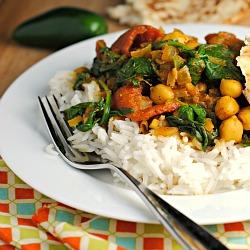 Meatless Monday & Money Matters: Channa Masala