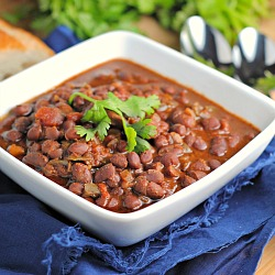Crock Pot Vegan Black Bean Soup