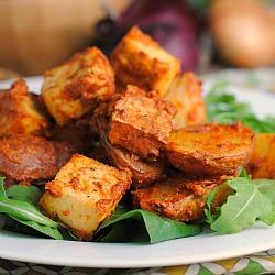 Meatless Monday: Lemon-Dijon Tofu and Potatoes