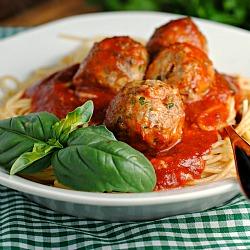 Beef & Ricotta Meatballs