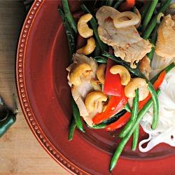 Stir-Fried Lemongrass Chicken + Weekly Menu