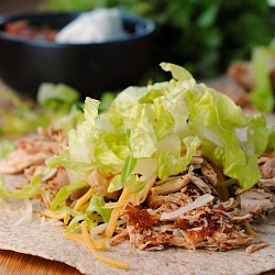 Recipe Repeat: Crock Pot Chicken Tacos {+ Homemade Taco Seasoning}