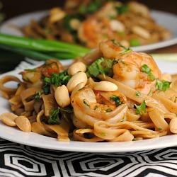 Spicy Thai Noodles with Shrimp + Weekly Menu