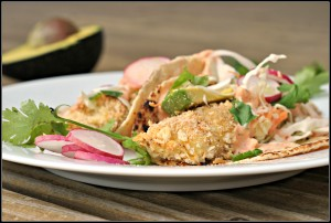 Crispy Tilapia Fish Tacos + Weekly Menu