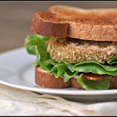 """Fried"" Green Tomato BLT's + Weekly Menu"