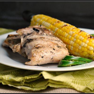 Jalapeño-Buttermilk Brined Grilled Chicken + Weekly Menu & Chili Contest Info